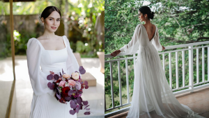 10 Minimalist Celebrity Wedding Gowns You'd Love To Wear On Your Big Day