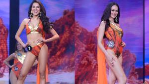 The Binibining Pilipinas 2021 Candidates Wore Orange Swimsuits Inspired By Ibong Adarna