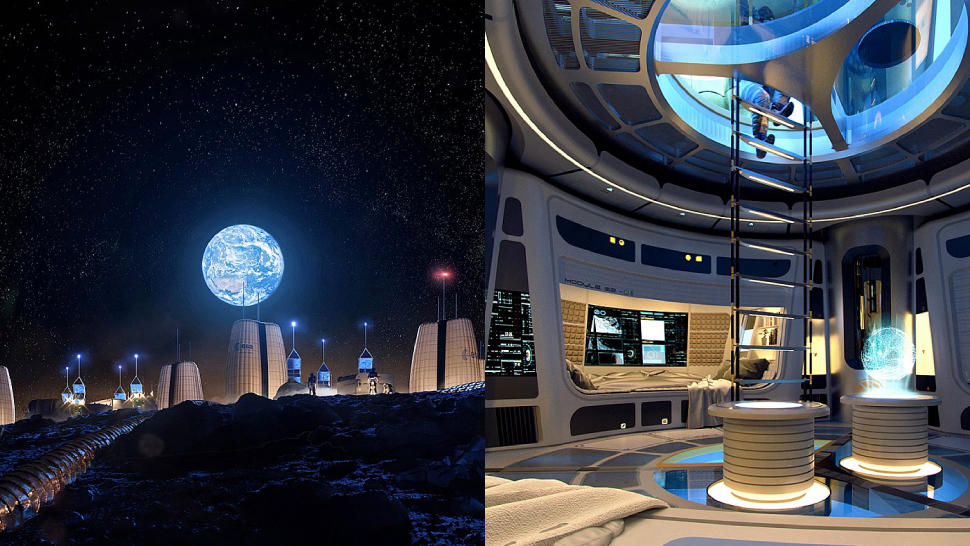 This Is What The Future Of Moon Living Could Look Like