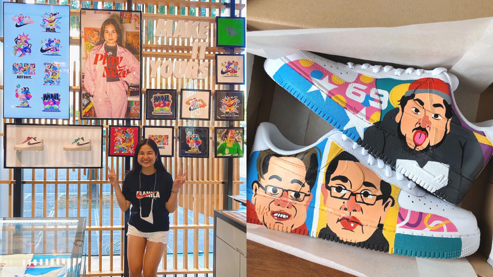 This Pinay Artist Designed Customized Sneakers For Nike By You