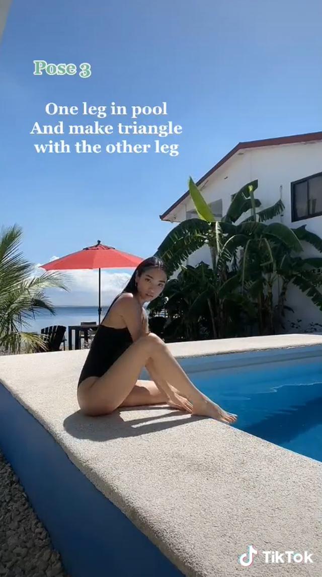 swimsuit poses jessica yang