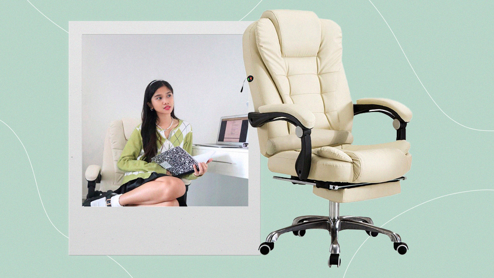 Ashley Garcia's Pretty Office Chair Costs Less Than P3000 And Here's Where You Can Get It