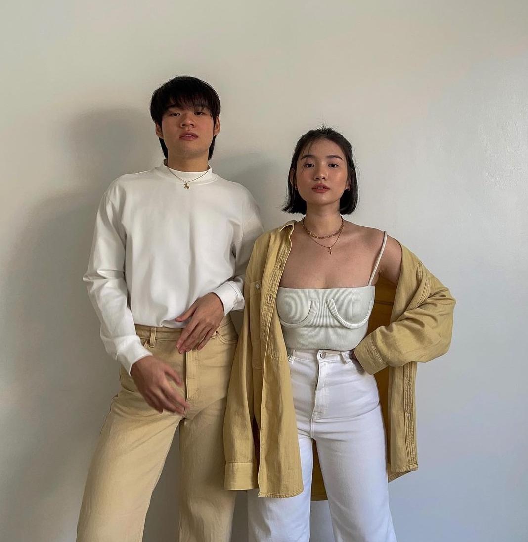 toni and kingzie sia twinning outfits