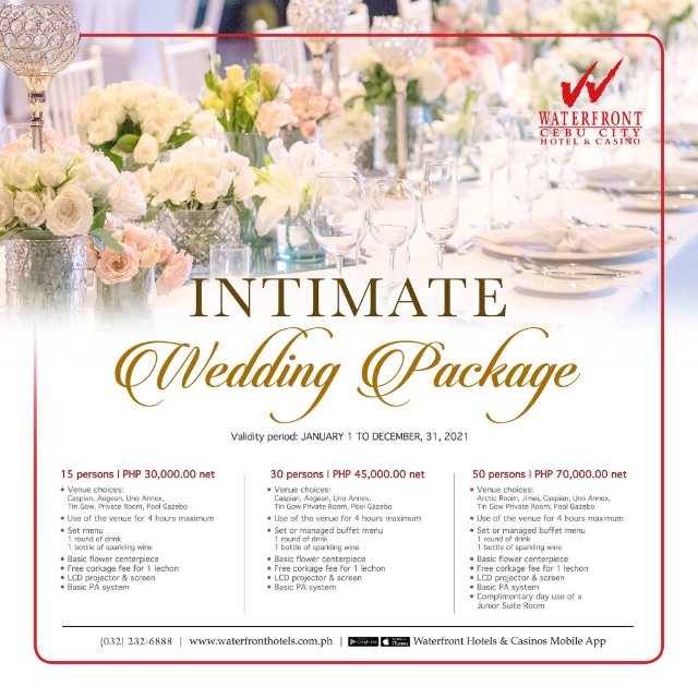 intimate wedding venue cebu
