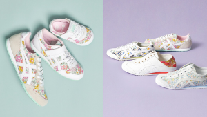 Onitsuka Tiger's Classic Sneakers Just Got The Daintiest Makeover With These Pretty Floral Prints
