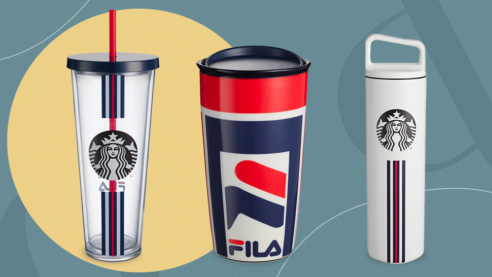 Starbucks Teamed Up With Fila To Create These Sporty-chic Tumblers