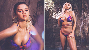 Selena Gomez's Sultry Swimsuit Collection Features Unretouched And Unedited Campaign Photos