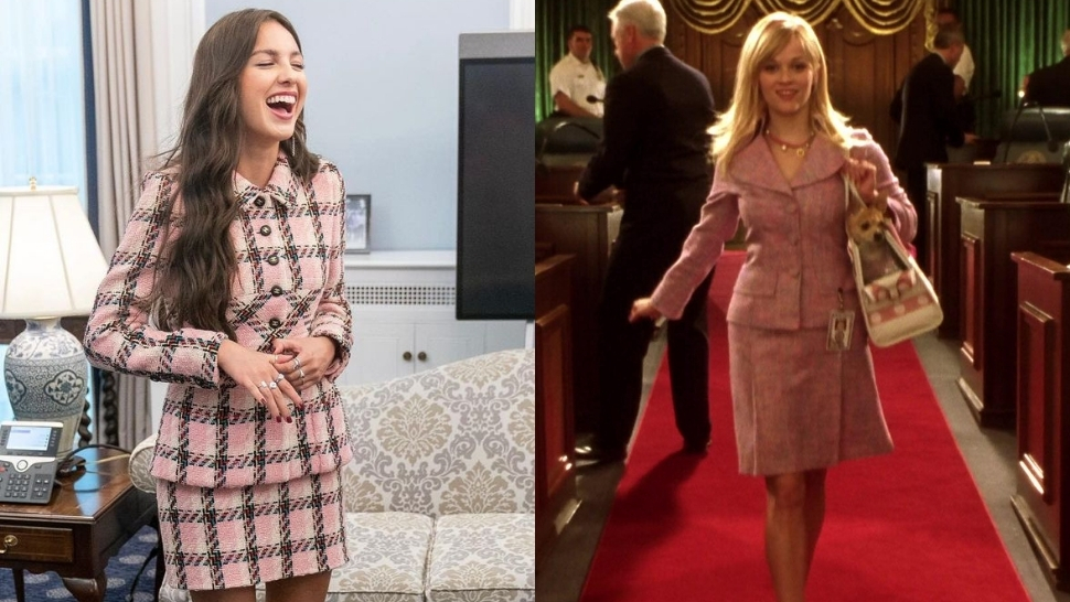 The Internet Thinks Olivia Rodrigo Looked A Lot Like Elle Woods During Her Visit At The White House