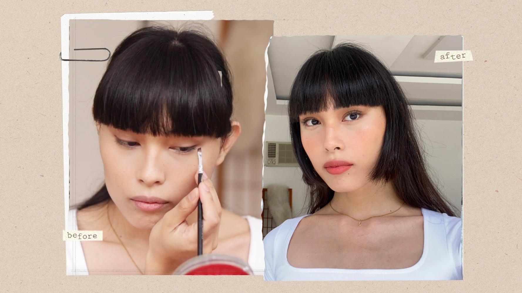 Here's How Tiktok Influencer Justine Llarena Does Her Go-to Errand Makeup Look