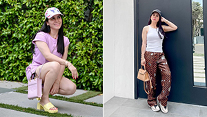 Jinkee Pacquiao Shows Us Polished Ways To Style Athleisure In Los Angeles