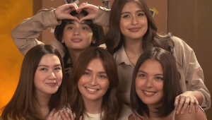 We Love Kathryn Bernardo And Her Friends' Perfectly Coordinated Monochrome Outfits
