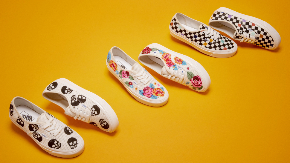 You'll Want To Add These Cool Needlework-inspired Sneakers To Your Shoe Collection