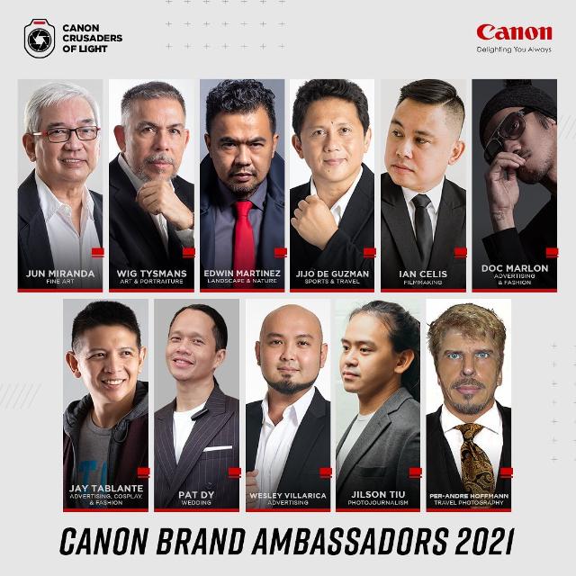 canon ambassador issue/