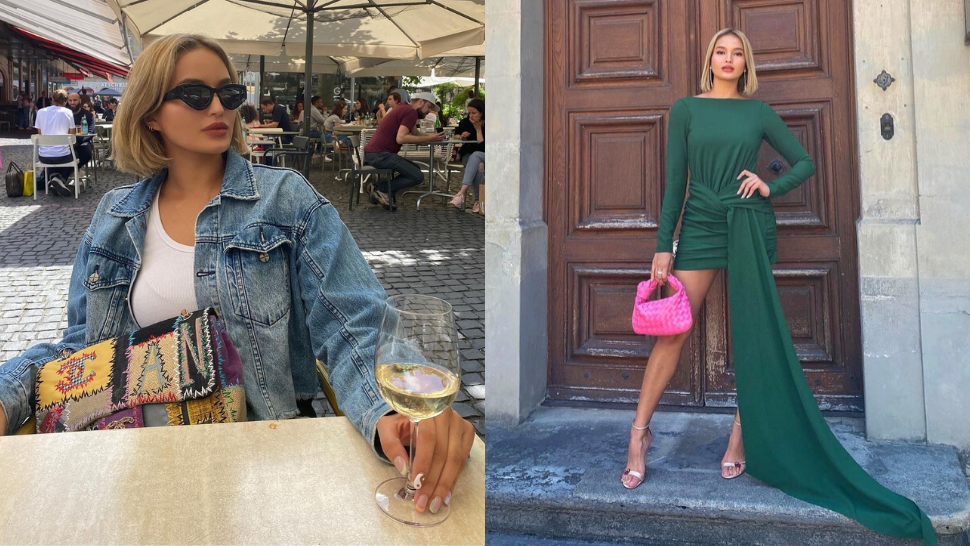 We're In Love With Sarah Lahbati's Effortlessly Stylish Travel Ootds In Switzerland