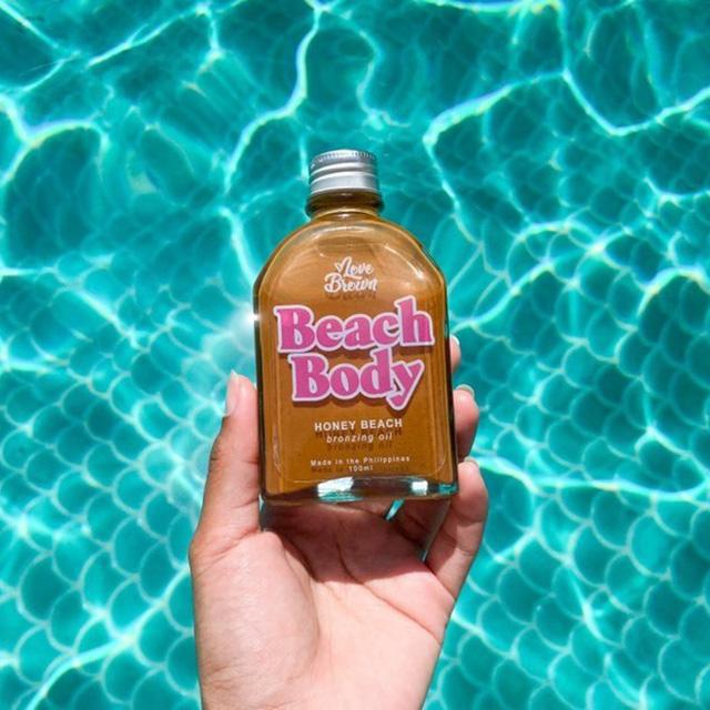 love brown bronzing oils