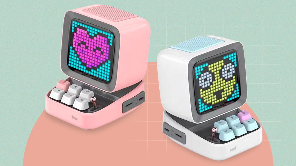 This P3,260 Retro Gadget Is a Bluetooth Speaker, Alarm Clock, and Pixel Art All in One