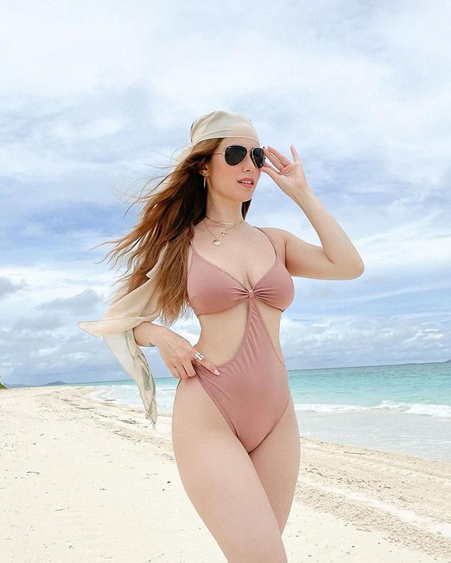 jessy mendiola wearing a swimsuit in amanpulo