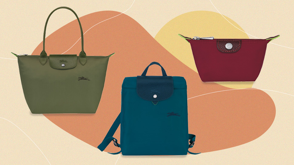 Longchamp's Classic Le Pliage Bags Are Getting An Eco-friendly Makeover