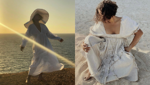 This Filipina Interior Designer's Gorgeous Ootd Pics Will Convince You To Wear White To The Beach