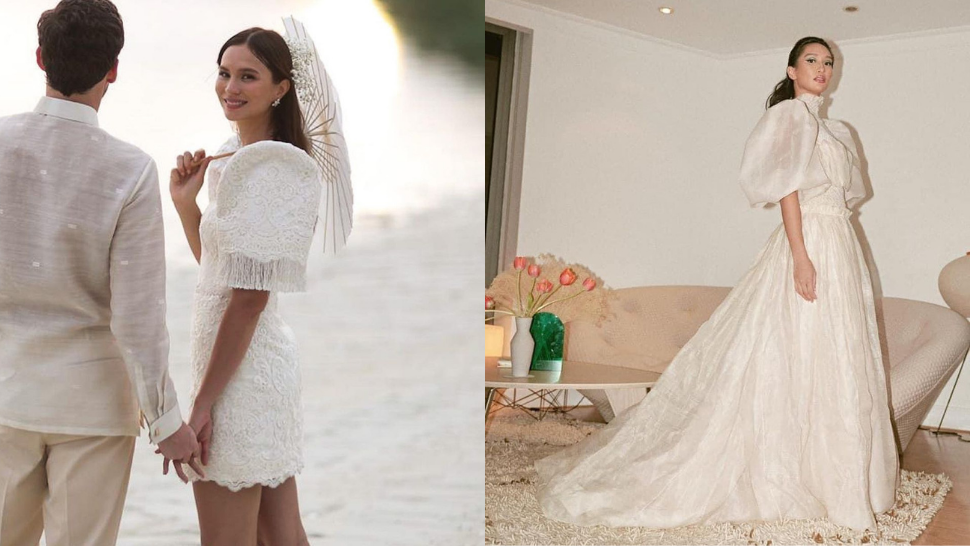 16 Filipiniana-Inspired Wedding Dresses to Wear Down the Aisle