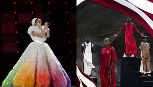 All The Stylish Moments From The Tokyo Olympics Opening Ceremony