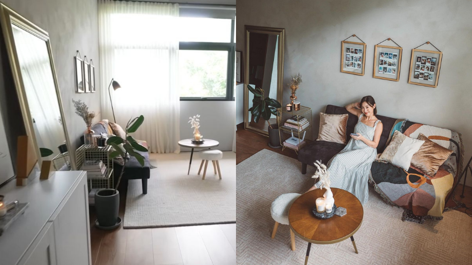 All The Cool Details We're Copying From Kryz Uy's Diy Home Office Makeover