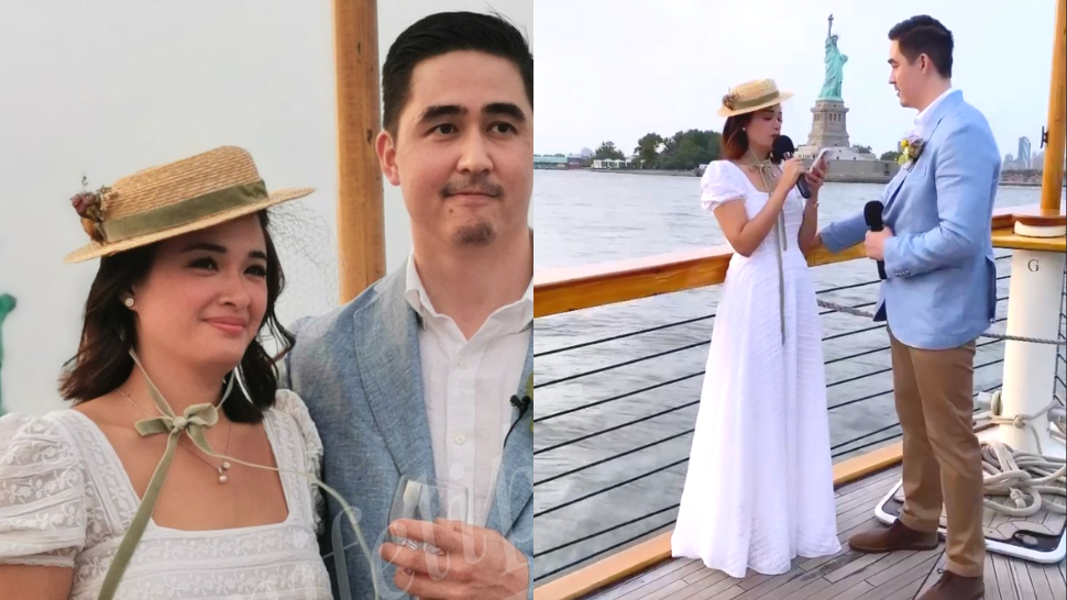 Yam Concepcion Just Got Married In The Cutest Puff Sleeve Dress