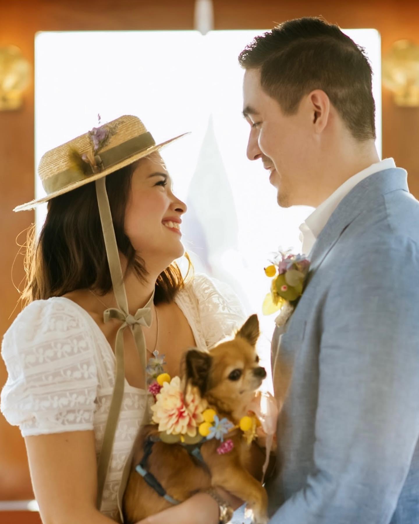 yam concepcion wedding dress