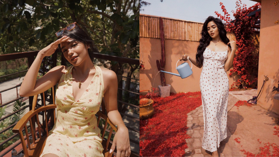 All the Times Andrea Brillantes Inspired Us to Wear Floral Dresses Again