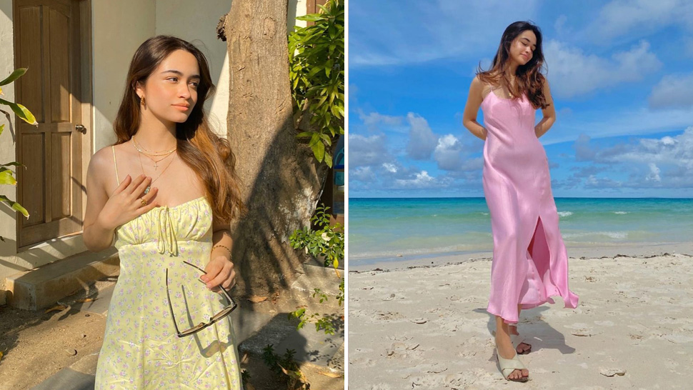 These Angelina Cruz Outfits Are Proof That We All Need Colorful Dresses