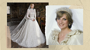 Princess Diana's Niece Just Got Married In A Stunning Wedding Gown Fit For Royalty
