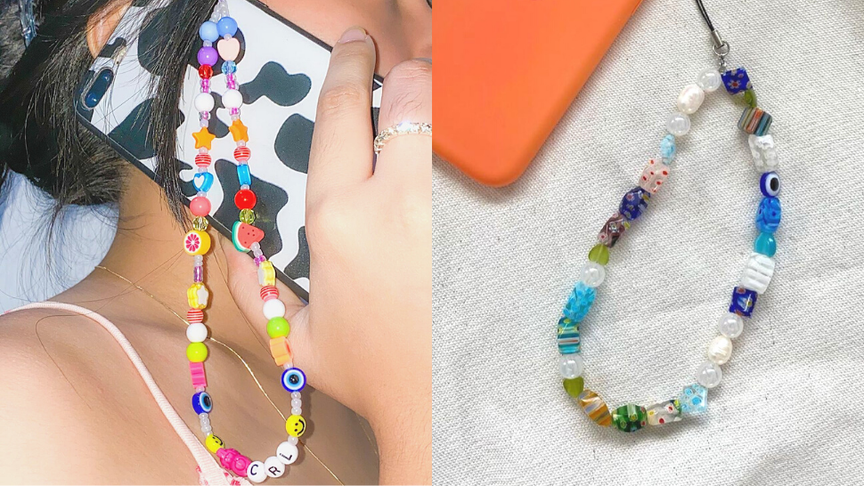 Where to Buy Cute Y2K-Inspired Beaded Phone Straps