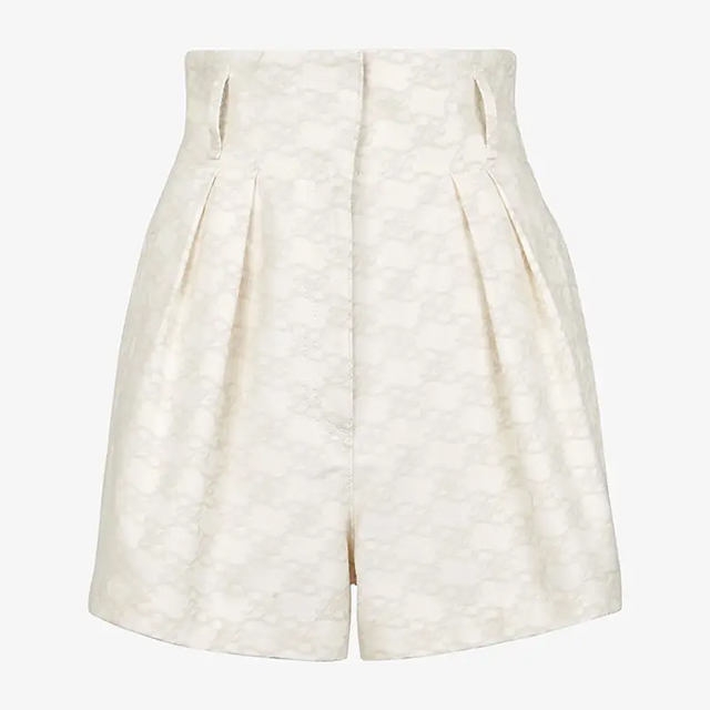 fendi denim shorts