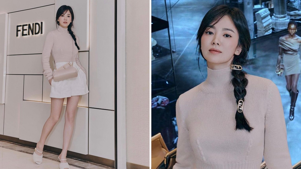Song Hye Kyo's Casual OOTD at a Fendi Event Costs Almost P370,000