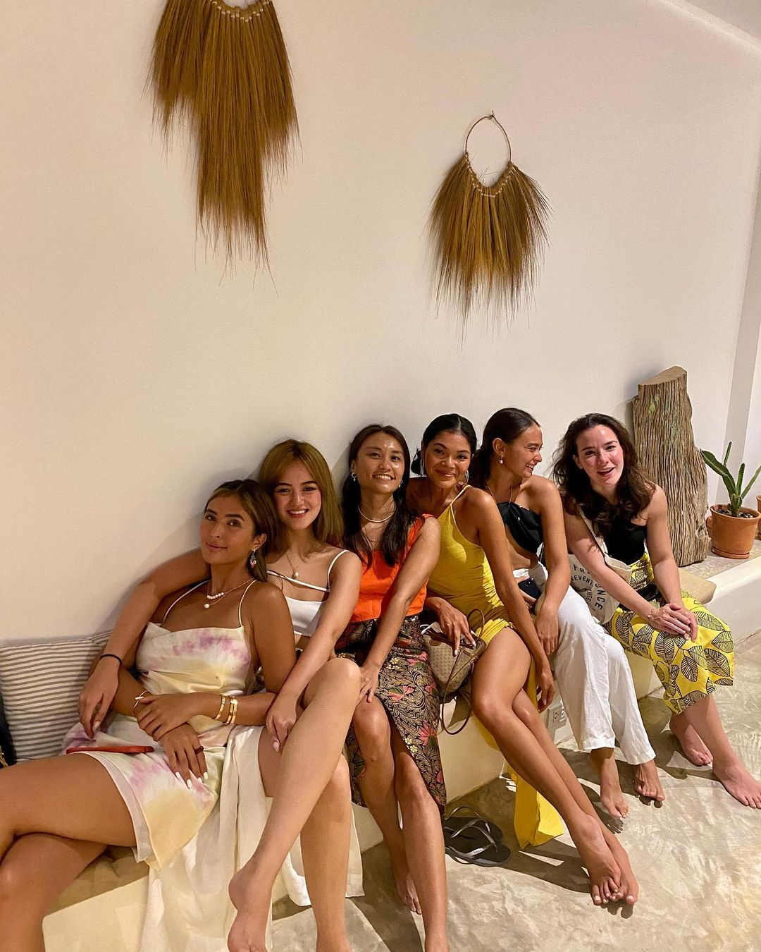 sofia and pamela andres siargao ootds