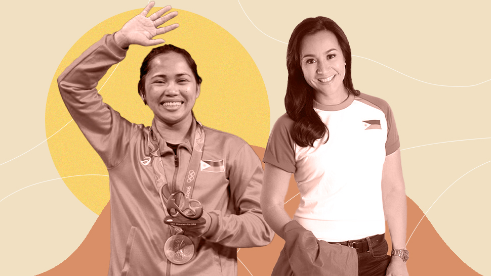 The Heartwarming Moment Between Two Filipinas Who Have Made History At The Olympics So Far