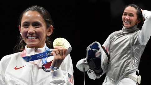 This Half-filipina Just Won A Historic Gold Medal In Fencing For Team Usa