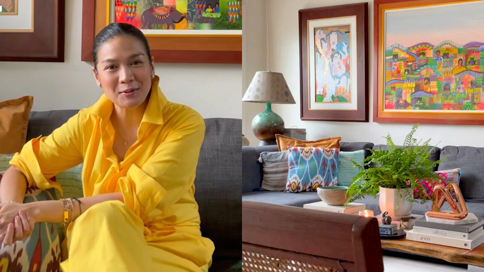 Take A Look Inside Interior Stylist Leona Panutat's Cozy And Colorful Home