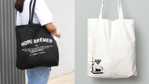 These Minimalist Tote Bags Are Perfect For Coffee Lovers