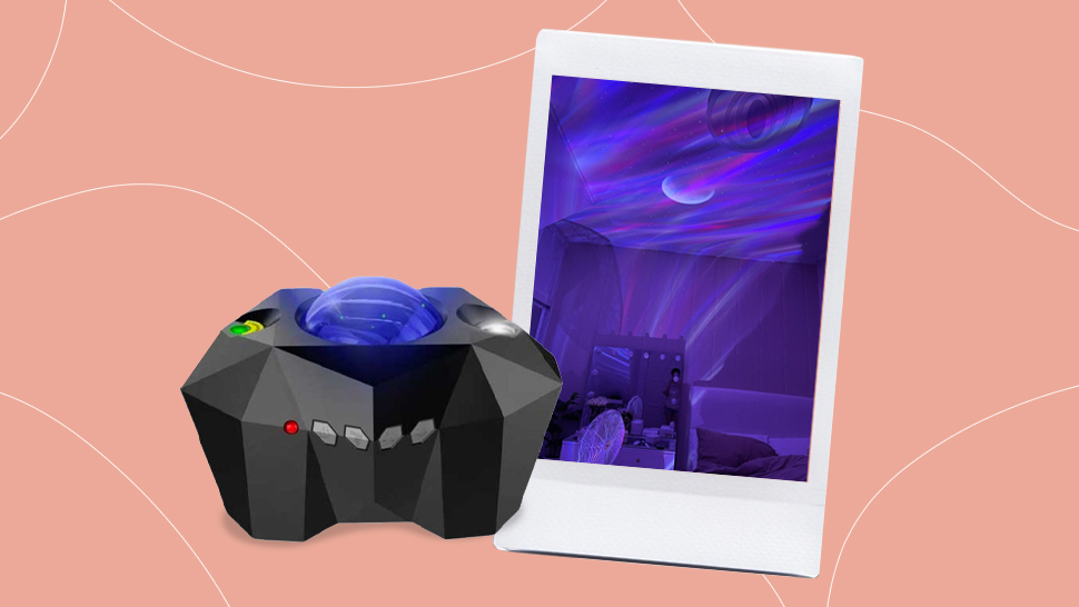 You'll Love This P1399 Dreamy Night Light Galaxy Projector