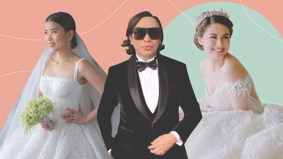 The 10 Most Extravagant Michael Cinco Wedding Gowns