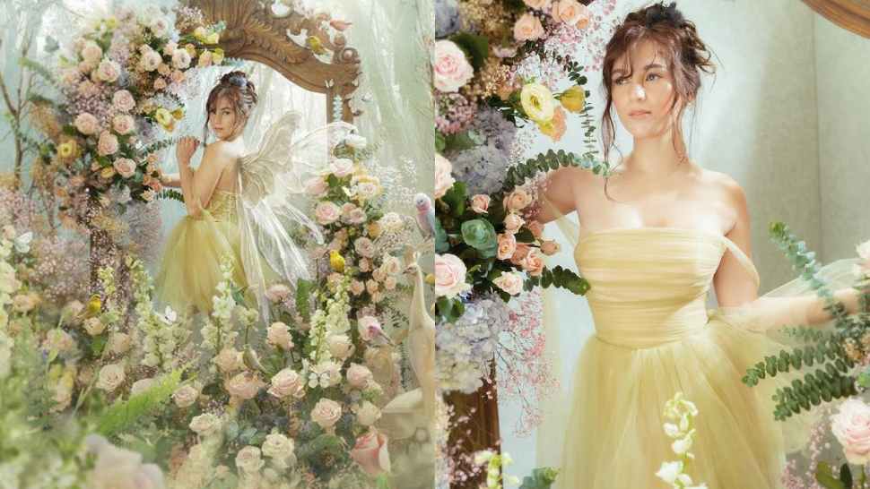 Barbie Imperial's Tinkerbell-inspired Birthday Shoot Looks Straight Out Of A Fairy Tale