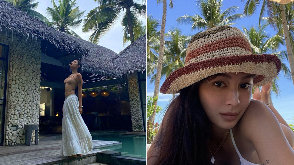 Nadine Lustre's Sultry Swimsuit Ootds In Siargao Will Convince You To Wear Neutrals
