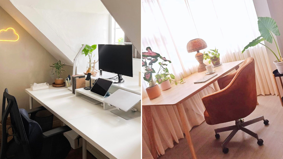 Everything You Need To Shop For An Aesthetic And Productive Work From Home Desk
