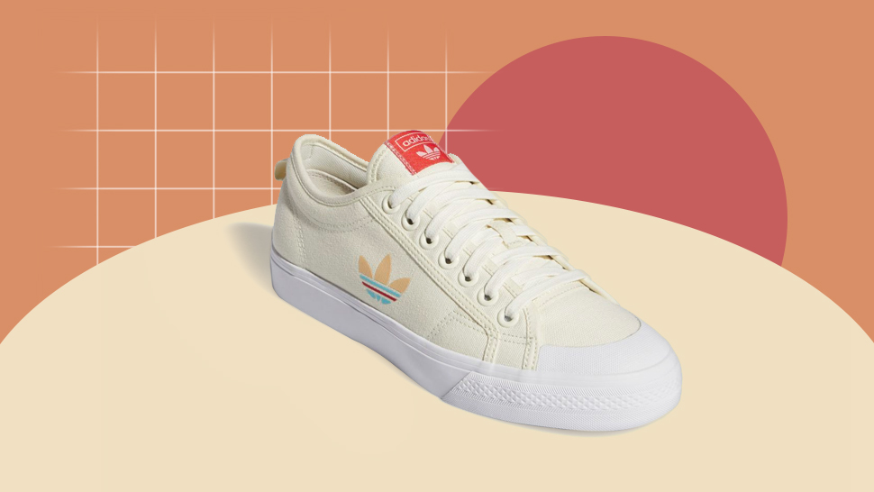 We're in Love with the Pastel Hues on These Canvas Adidas Sneakers