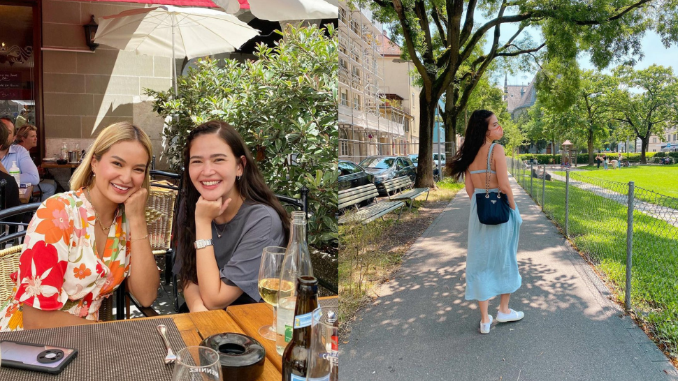 We're In Love With Bela Padilla's Fresh, Casual Travel Ootds In Europe