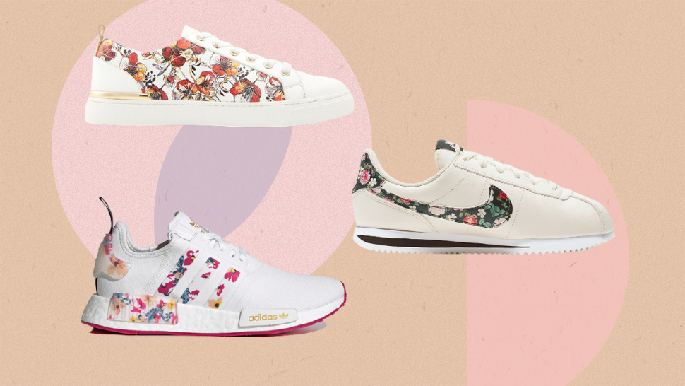 10 Dainty, Floral Sneakers To Add To Your Collection