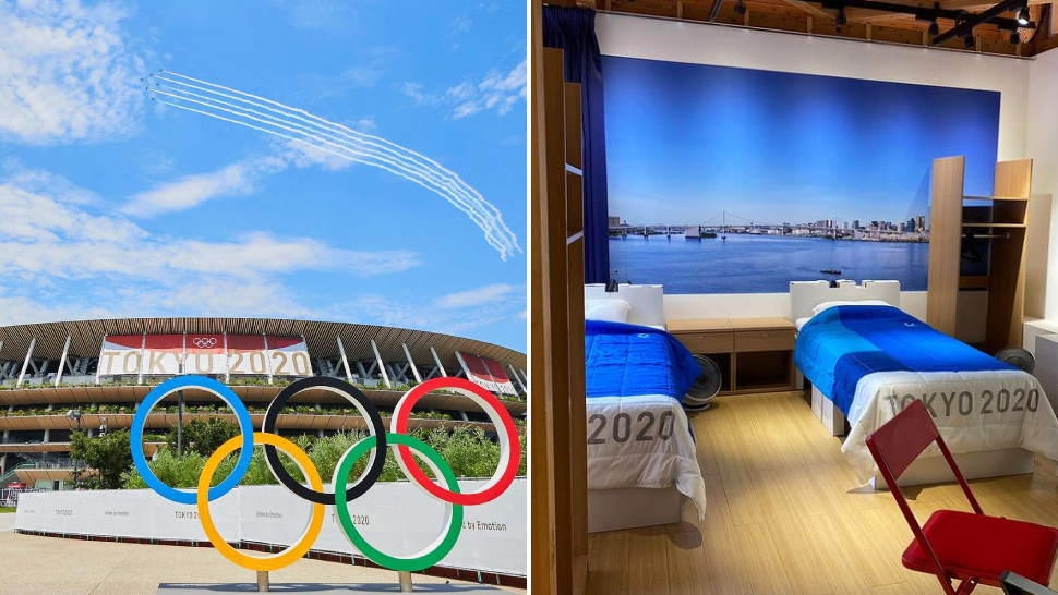 All The Cool Details We Spotted Inside The Olympic Village In Tokyo
