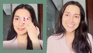 Here's What Binibining Pilipinas 2021 2nd Runner-up Meiji Cruz Really Looks Like Without Makeup