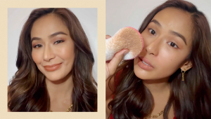 Samantha Bernardo Removes Her Makeup Using Only One Organic Product